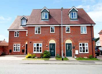Thumbnail 3 bed terraced house for sale in Reeds Way, Loddon, Norwich, Norfolk