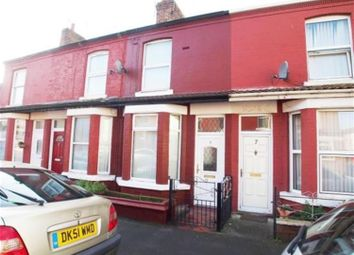 Thumbnail 2 bed terraced house to rent in Selby Street, Wallasey