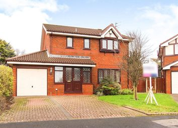 Thumbnail 4 bedroom detached house for sale in Loxley Place, Thornton-Cleveleys