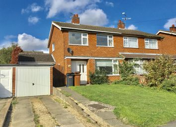 Thumbnail 3 bed semi-detached house to rent in Valley Road, Melton Mowbray