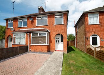 Thumbnail 3 bedroom semi-detached house for sale in Clarence Road, Ipswich
