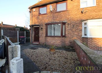 Thumbnail 2 bedroom semi-detached house to rent in Buckingham Road, Clifton, Swinton, Manchester
