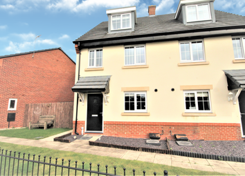 Thumbnail 3 bed semi-detached house for sale in Henry Littler Way, Goosnargh, Preston