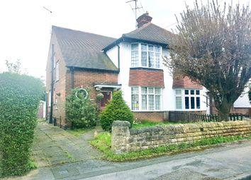 Thumbnail 3 bedroom semi-detached house for sale in Harrow Road, West Bridgford, Nottingham