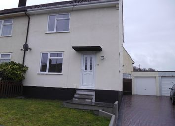Thumbnail 2 bed detached house to rent in Erle Gardens, Plympton, .