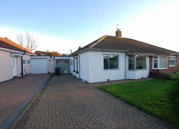 Thumbnail 2 bed semi-detached bungalow for sale in Milford Gardens, Gosforth, Newcastle Upon Tyne