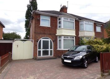 Thumbnail 3 bed semi-detached house for sale in Turnbull Drive, Braunstone Town, Leicester, Leicestershire