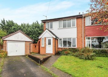 Thumbnail 3 bed semi-detached house for sale in Highbank Close, Barnton, Northwich