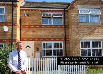 Thumbnail 2 bed terraced house for sale in Kestrel Close, Cottenham, Cambridge