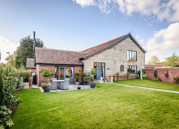 Thumbnail 3 bed barn conversion for sale in The Street, Poringland, Norwich