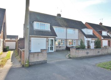Thumbnail 3 bed semi-detached house for sale in Gloucester Crescent, South Wigston, Leicester