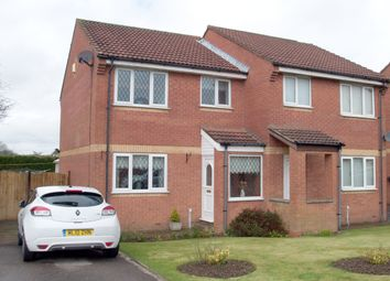 Thumbnail 3 bed semi-detached house for sale in Shire Croft, Eastfield, Scarborough