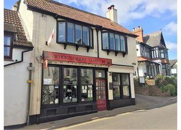 Thumbnail Restaurant/cafe for sale in Whortleberry Tearooms, High Street, Porlock, Porlock, Somerset