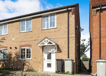 3 bed semi-detached house for sale in Curtis Drive, Coningsby, Lincoln LN4