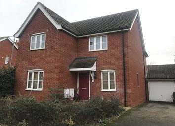 Thumbnail 4 bed detached house to rent in Mallard End, Downham Market