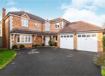 Thumbnail 4 bed detached house for sale in Fell Close, Fleckney, Leicester