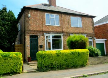 Thumbnail 2 bed semi-detached house for sale in Spencer Street, Oadby, Leicester