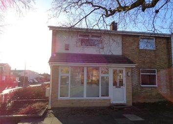 Thumbnail 2 bed end terrace house for sale in Mellanby Crescent, Newton Aycliffe