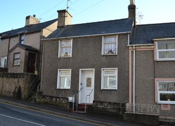 Thumbnail 2 bed end terrace house for sale in Caernarfon Road, Pwllheli