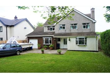 Thumbnail 4 bed detached house for sale in Penrhos Beach Road, Holyhead