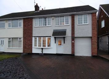 Thumbnail 4 bed semi-detached house for sale in Swinburne Avenue, Adwick-Le-Street, Doncaster