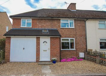 Thumbnail 4 bedroom semi-detached house for sale in Manor Close, Harston, Cambridge