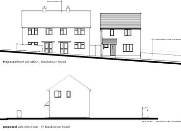 Thumbnail Land for sale in Blackdown Road, Portishead, Bristol