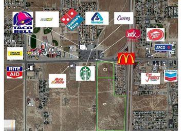 Thumbnail Property for sale in Rosamond Blvd./25th St. Commercial, Rosamond, California