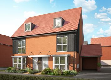 Thumbnail 3 bed semi-detached house for sale in Village Road, Peters Village, Wouldham, Kent