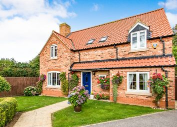 Thumbnail 4 bed detached house for sale in Manor Croft, Sudbrook, Grantham
