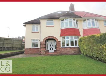 Thumbnail 4 bed semi-detached house to rent in Beaufort Road, Newport