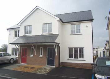 Thumbnail 3 bedroom semi-detached house for sale in Llanybydder