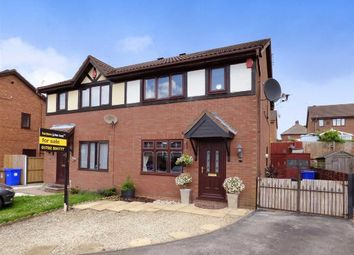 Thumbnail 3 bedroom semi-detached house for sale in Merton Street, Meir Hay, Stoke-On-Trent
