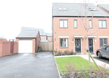Thumbnail 3 bed town house for sale in Pembrey Gardens, Wolverhampton