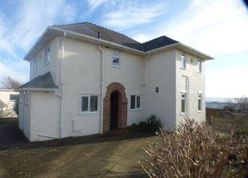 Thumbnail 3 bed detached house for sale in Lon Merllyn, Criccieth, Gwynedd