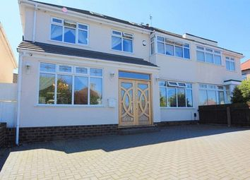 Thumbnail 6 bed semi-detached house for sale in Manor Road, Woolton, Liverpool