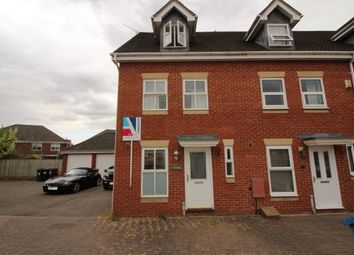 Thumbnail 3 bed town house to rent in Caliban Mews, Heathcote, Warwick