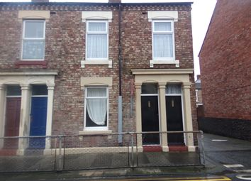 Thumbnail 2 bed flat to rent in Albion Road West, North Shields