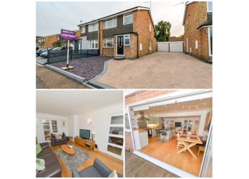 Thumbnail 3 bed semi-detached house for sale in Ringway Road, How Wood