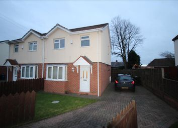 Thumbnail 3 bedroom semi-detached house to rent in Mayfield Avenue, Throckley, Newcastle Upon Tyne