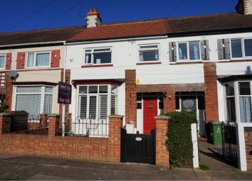 Thumbnail 3 bed terraced house for sale in Stratford Avenue, Grimsby