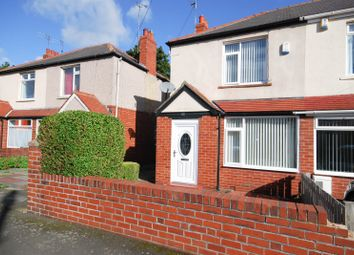Thumbnail 2 bed semi-detached house for sale in Bellfield Avenue, Newcastle Upon Tyne