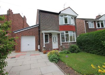 Thumbnail 3 bed detached house to rent in Ambleside Road, Flixton, Urmston, Manchester