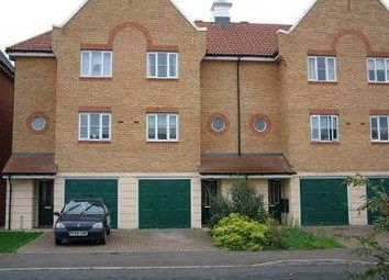 Thumbnail 3 bed town house to rent in Mayesbrook Grove, Barking, Essex