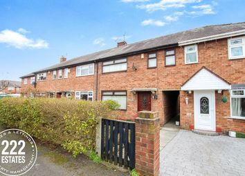 Thumbnail 3 bed terraced house to rent in Hughes Place, Warrington