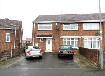 Thumbnail 4 bed semi-detached house for sale in Rydal Crescent, Peterlee, County Durham