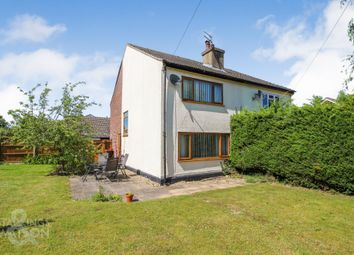 Thumbnail 2 bed cottage for sale in Carol Close, Stoke Holy Cross, Norwich