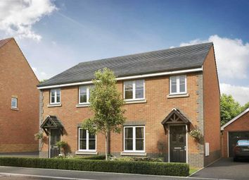 """Thumbnail 3 bed semi-detached house for sale in """"The Gosford - Plot 105"""" at Weir Hill, Preston Street, Shrewsbury"""