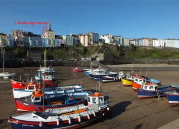 Thumbnail 3 bed terraced house for sale in Sea House, Crackwell Street, Tenby