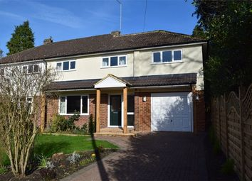 Thumbnail 4 bed semi-detached house for sale in Pinewood Avenue, Crowthorne, Berkshire